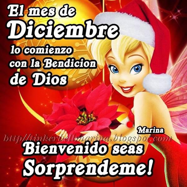 El mes de Diciembre lo comienzo con la Bendición de Dios