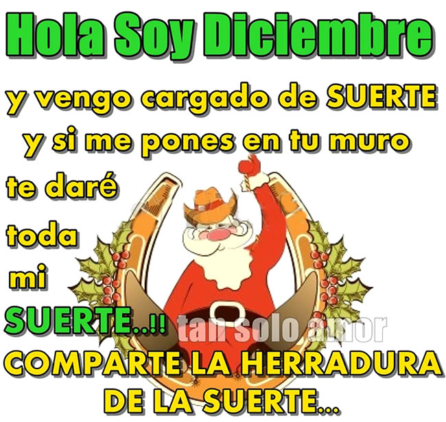 Hola Soy Diciembre