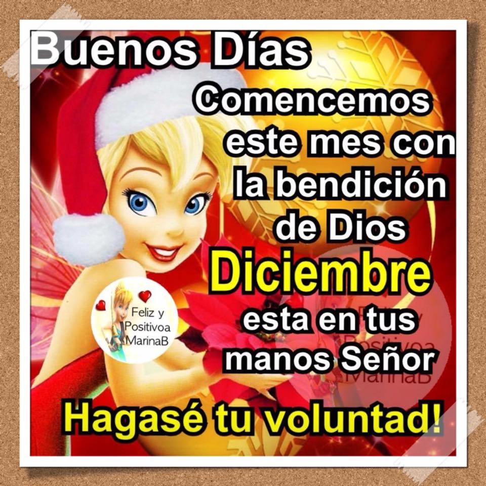 Comencemos este mes con la bendición de Dios...