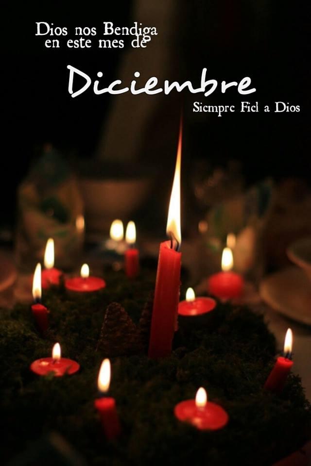 Dios nos Bendiga en este mes de Diciembre
