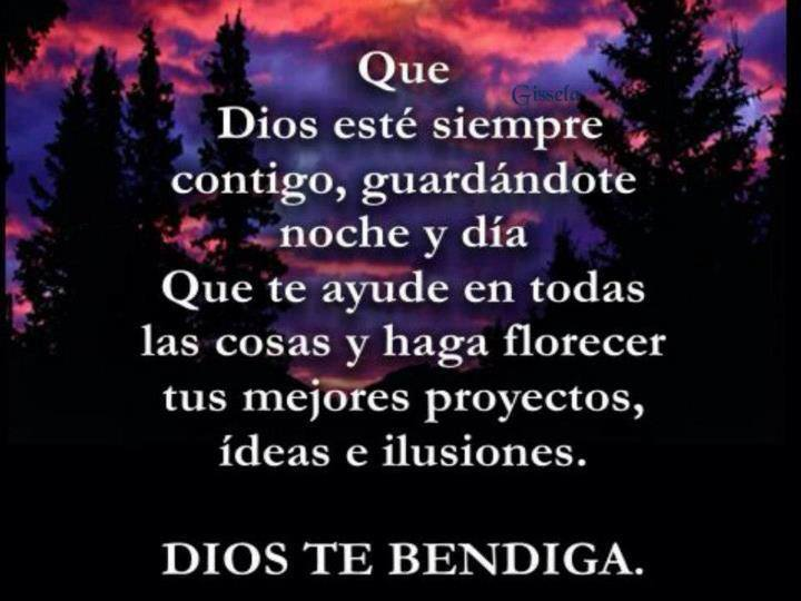 Dios Te Bendiga imagen 1