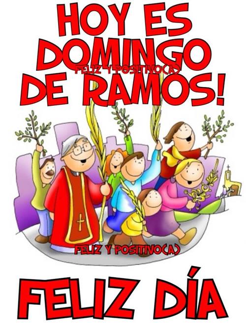 Hoy es Domingo de Ramos! Feliz Día