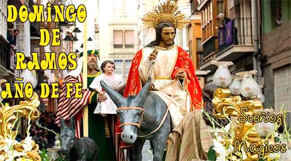 Domingo de Ramos Año de Fe