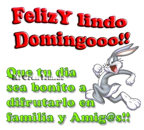 Feliz y lindo Domingoooo!!