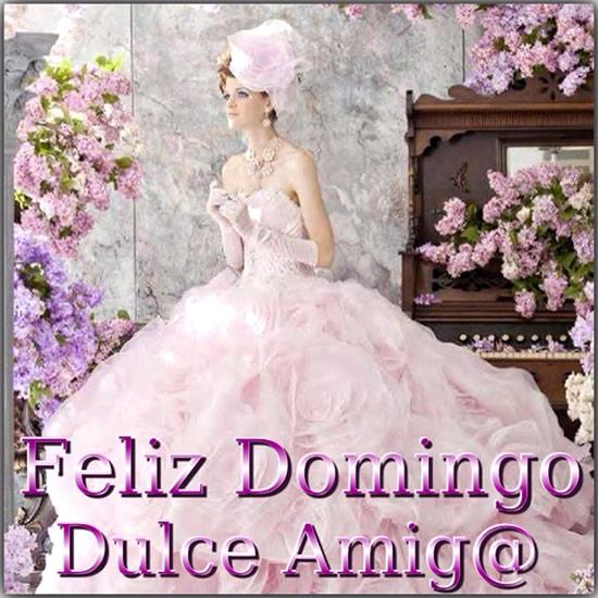 Feliz Domingo dulce amig@