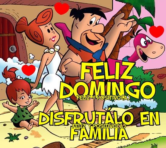 Feliz Domingo! Disfrútalo en Familia