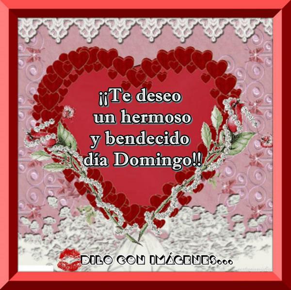 ¡Te deseo un hermoso y bendecido día...