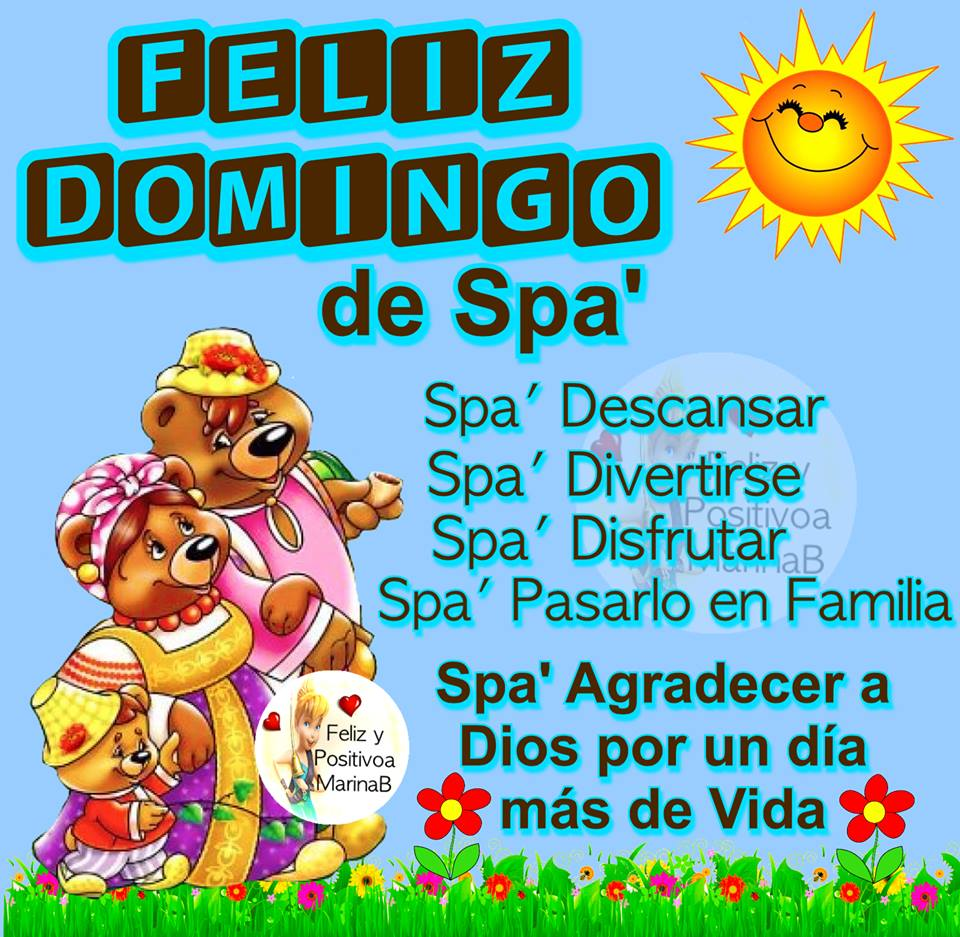 Feliz Domingo de Spa'
