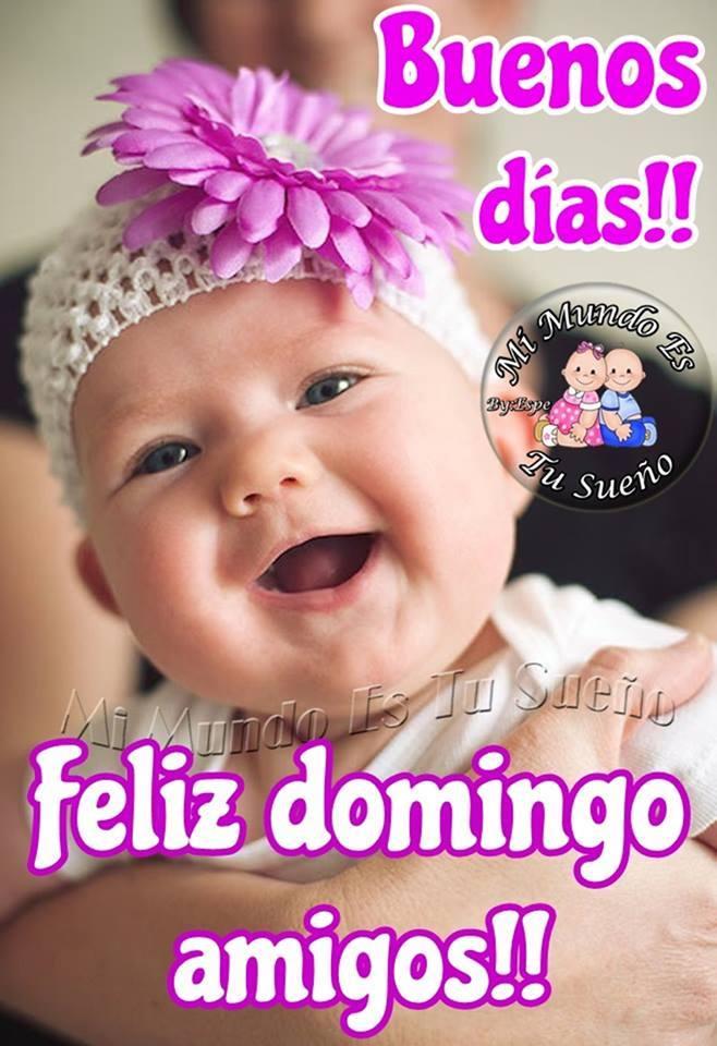 Buenos días!! Feliz domingo amigos!!