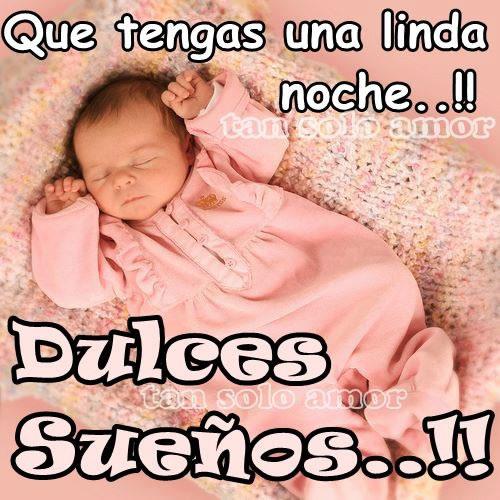 Que tengas una linda noche!! Dulces sueños!!
