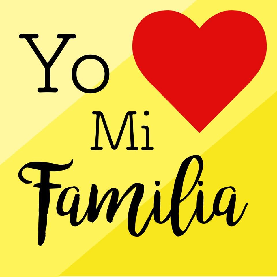 Yo ❤ mi familia