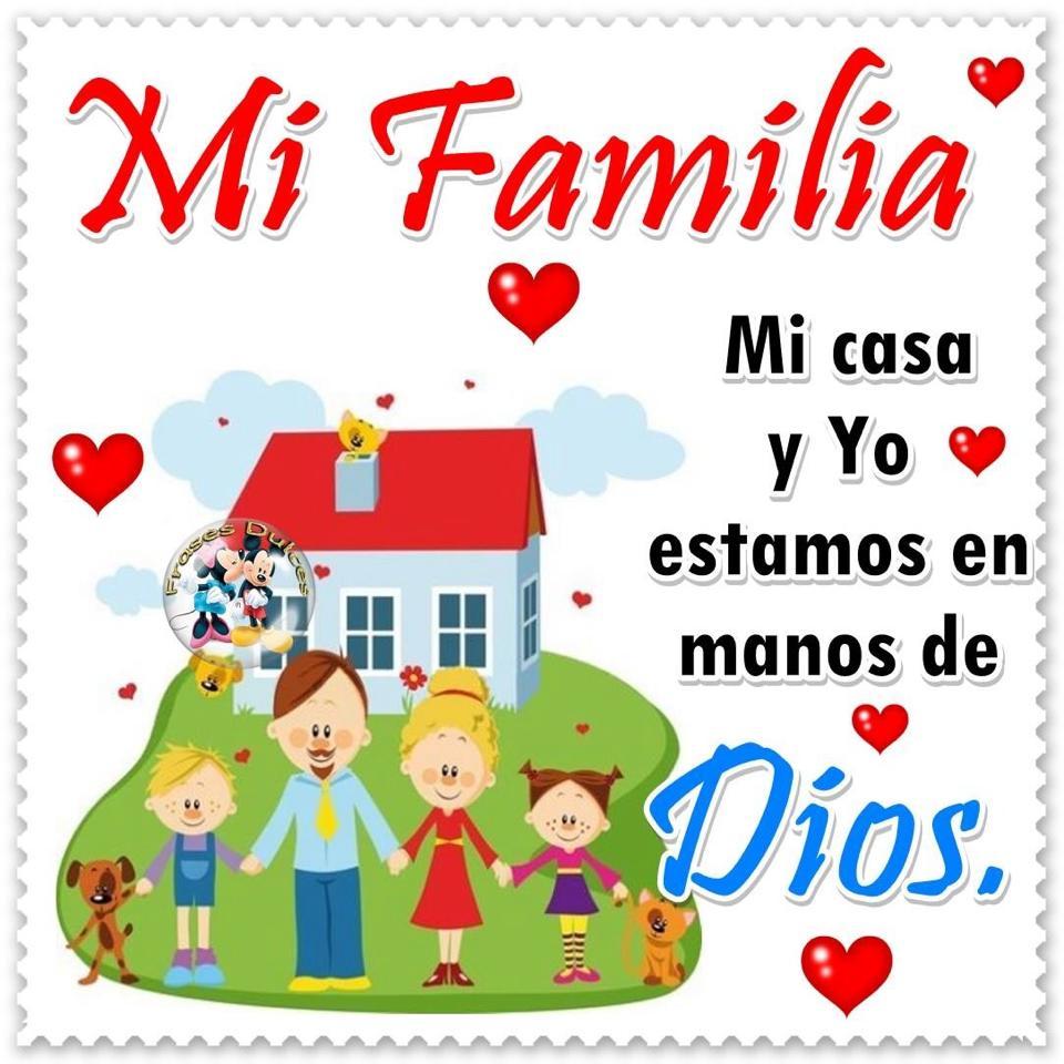 Mi Familia, Mi casa y Yo estamos en...