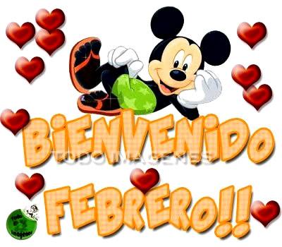 Bienvenido Febrero!!
