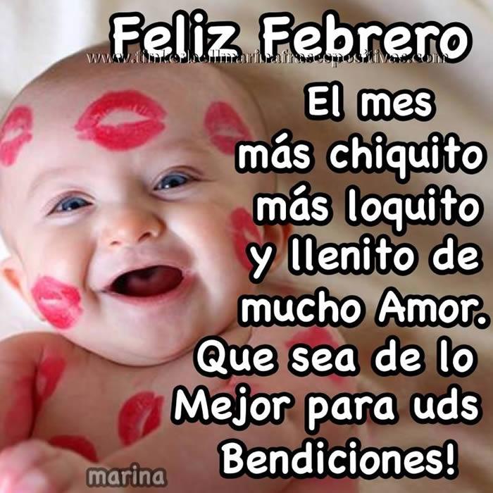 Feliz Febrero! El mes más chiquito, más loquito y llenito de mucho amor
