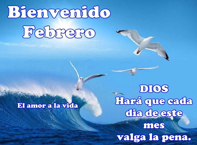 Bienvenido Febrero