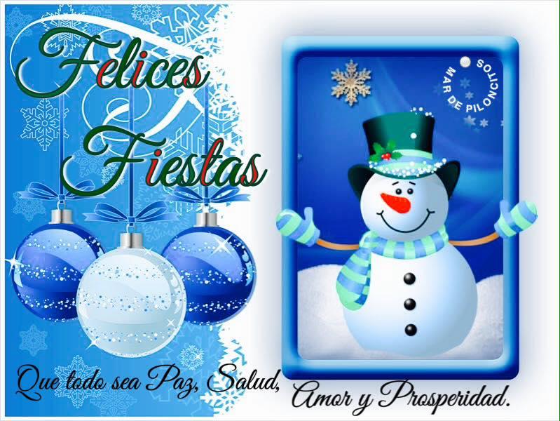 Felices Fiestas! Que todo sea Paz...