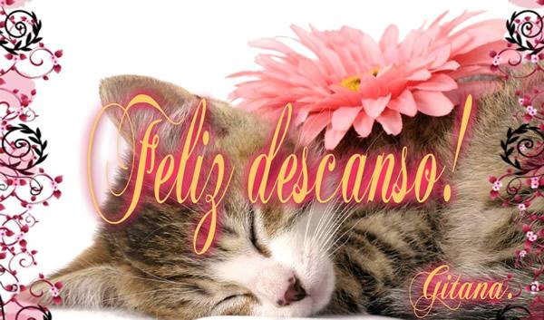 Feliz descanso!