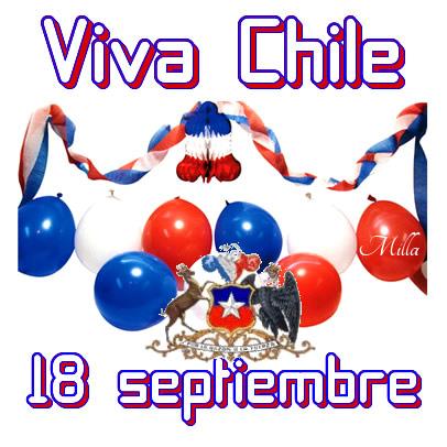 Viva Chile, 18 septiembre