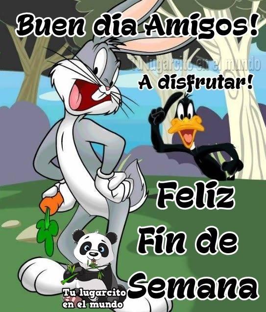 Buen día Amigos! A disfrutar! Feliz Fin de Semana