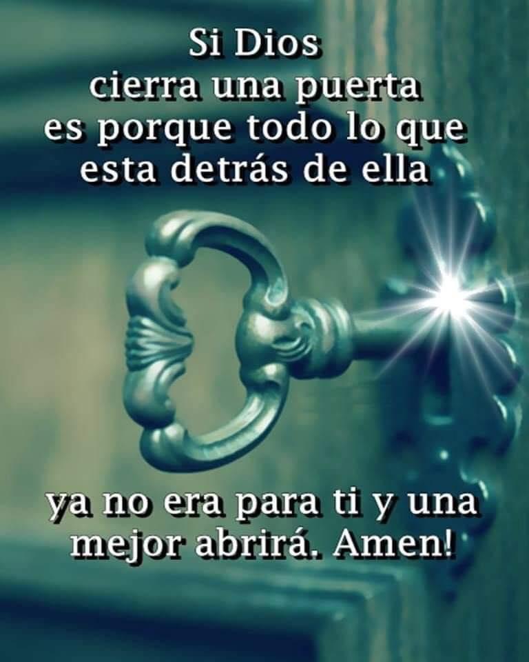 Si Dios cierra una puerta es...