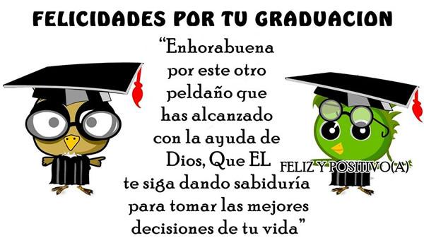 Felicidades por tu Graduacion!