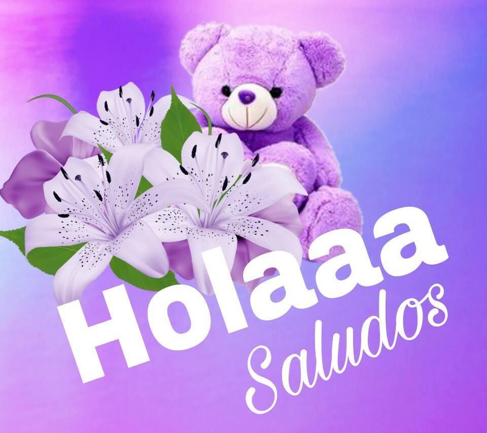 Holaaa Saludos