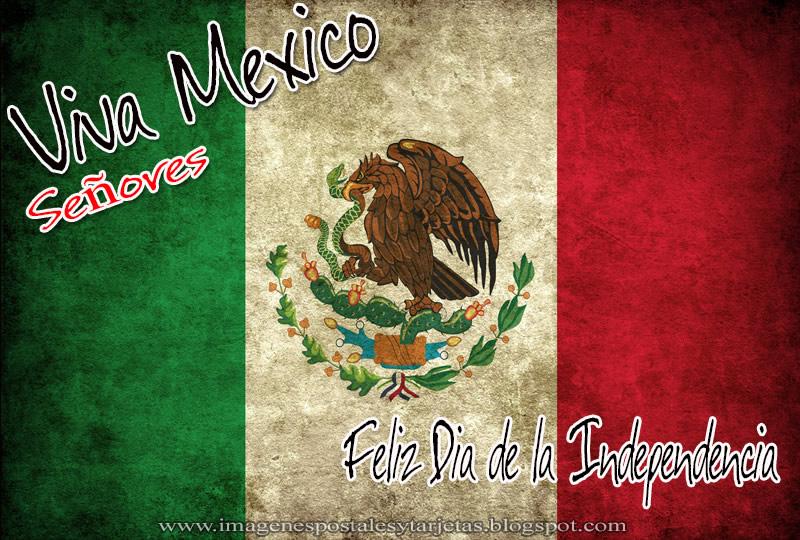Viva México señores, Feliz Día de la Independencia