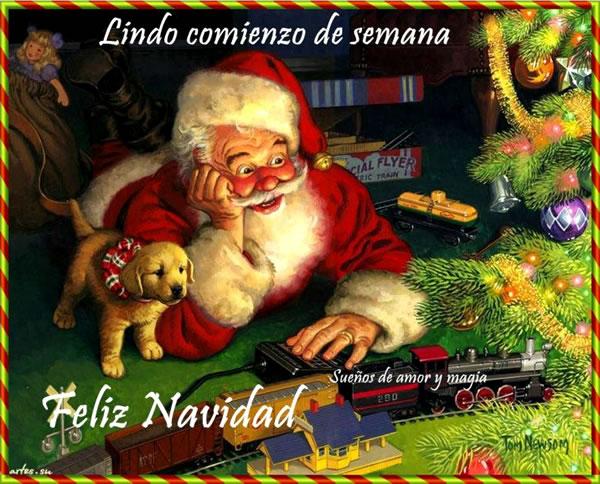 Lindo comienzo de semana, Feliz Navidad