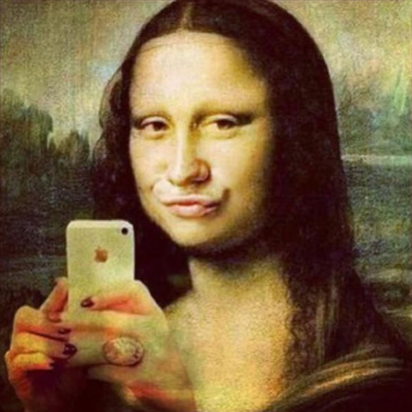 Mona Lisa Instagram