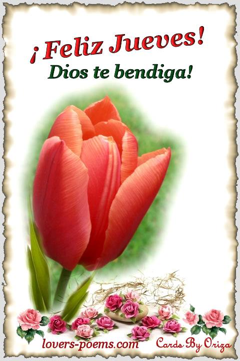 Feliz Jueves Dios Te Bendiga Imagen 4350 Imágenes Cool