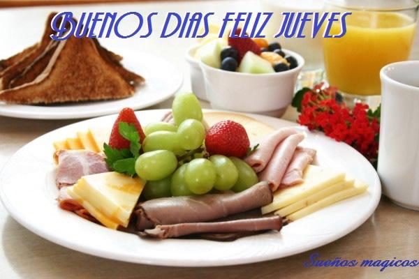 Buenos Días, Feliz Jueves
