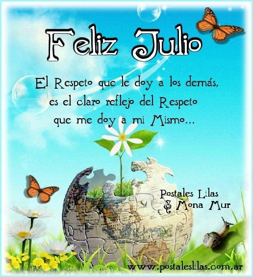 Feliz Julio