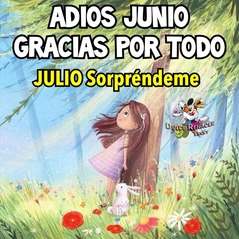 Adios Junio, gracias por todo. Julio...