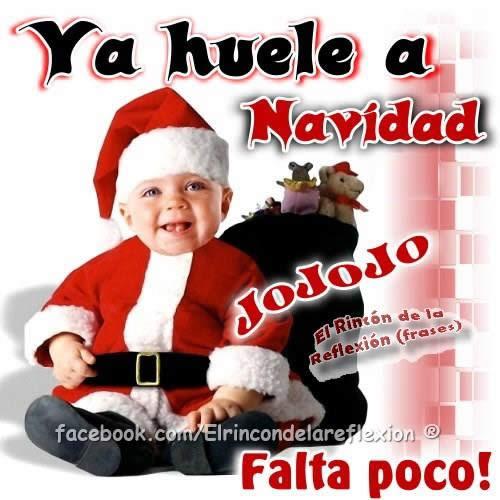 Ya huele a Navidad... JoJoJo... ¡Falta...