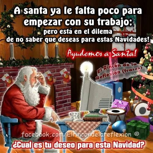 ¿Cuál es tu deseo para esta Navidad?