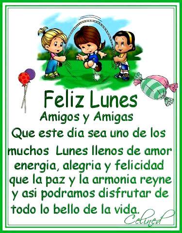 Feliz Lunes Amigos Y Amigas Imagen 3380 Imágenes Cool