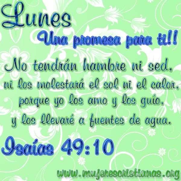 Lunes, una promesa para ti!!