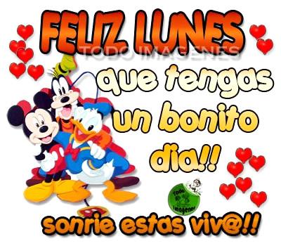 Feliz Lunes, que tengas un bonito día!! Sonríe estas viv@!!