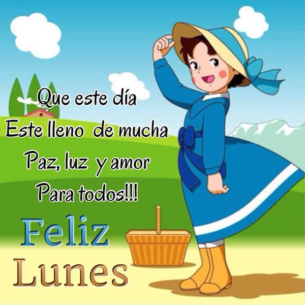 Que este día este lleno de mucha paz, luz y amor para todos! Feliz Lunes!