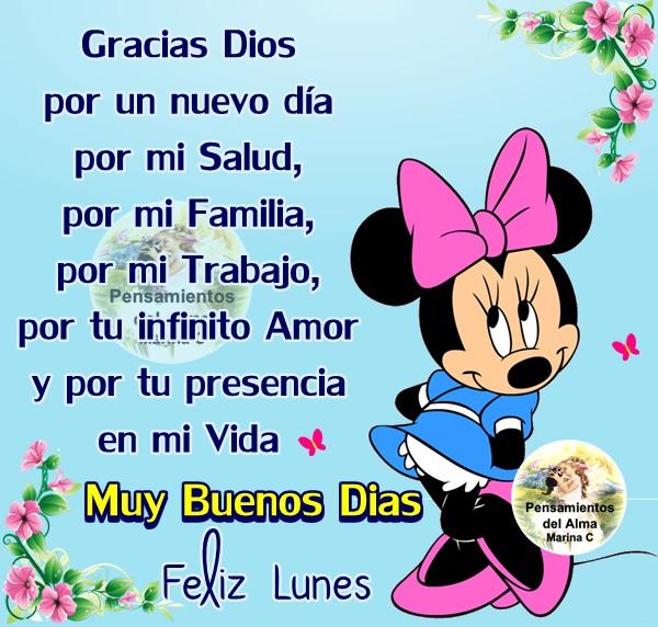 Gracias Dios por un nuevo día... Feliz...