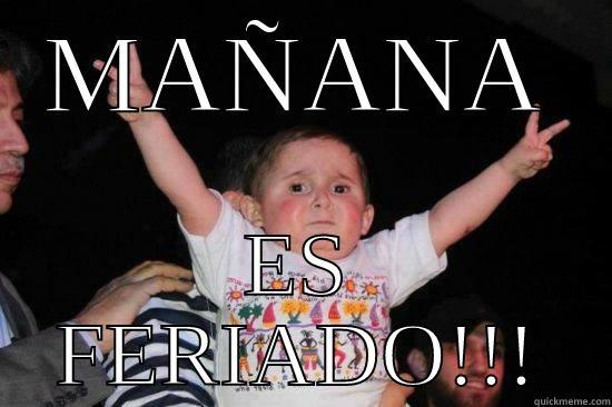 Mañana es Feriado!!!