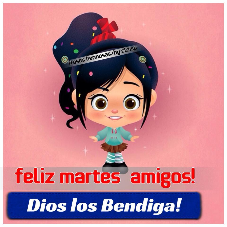 Feliz martes amigos! Dios los Bendiga!