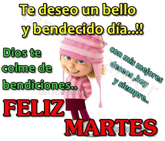 Te deseo un bello y bendecido día!...