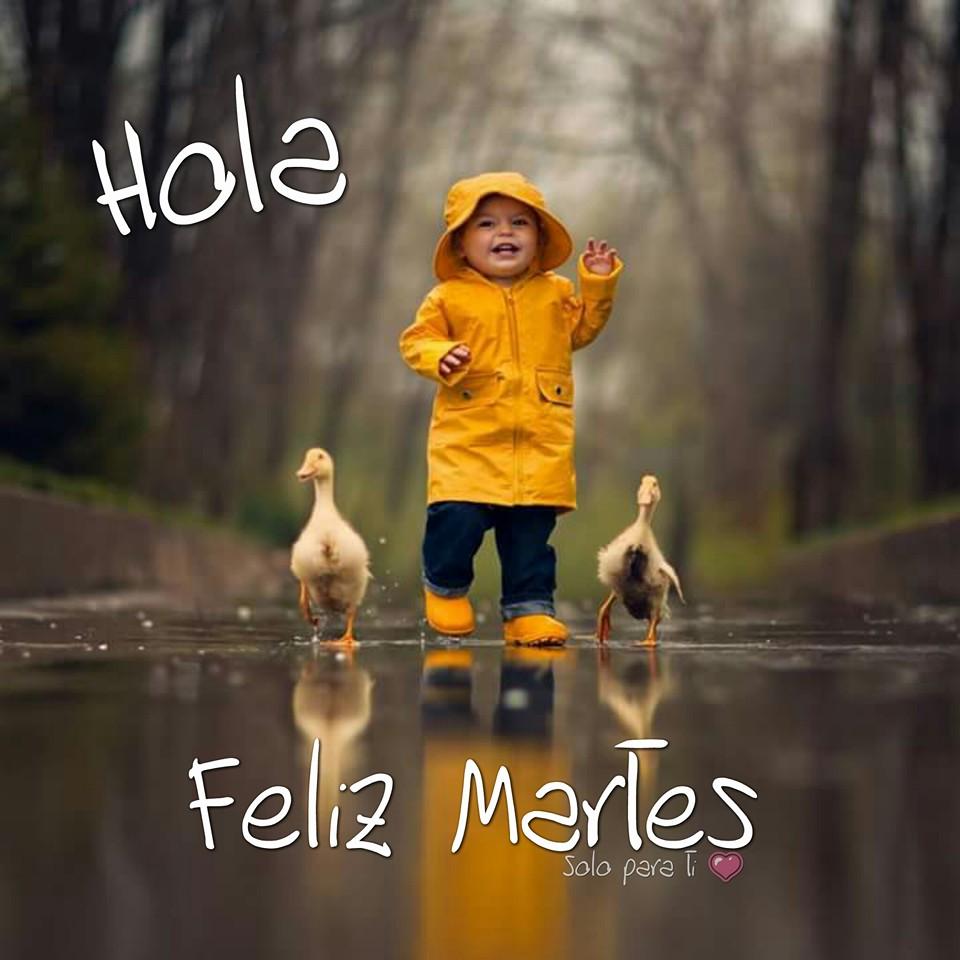 Hola, Feliz Martes