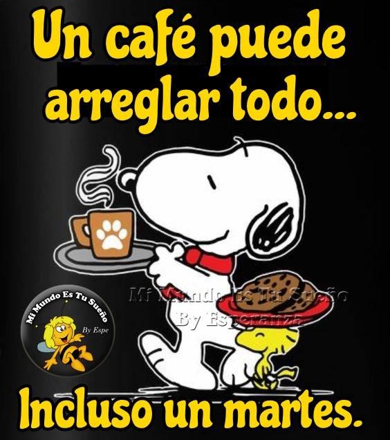 Un café puede arreglar todo... incluso...