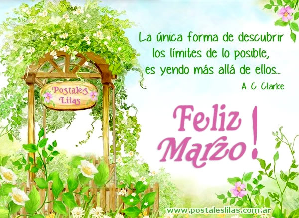 Feliz Marzo!