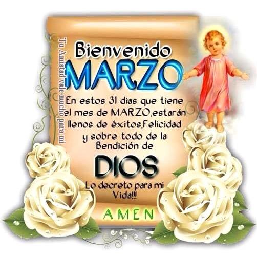 Bienvenido Marzo