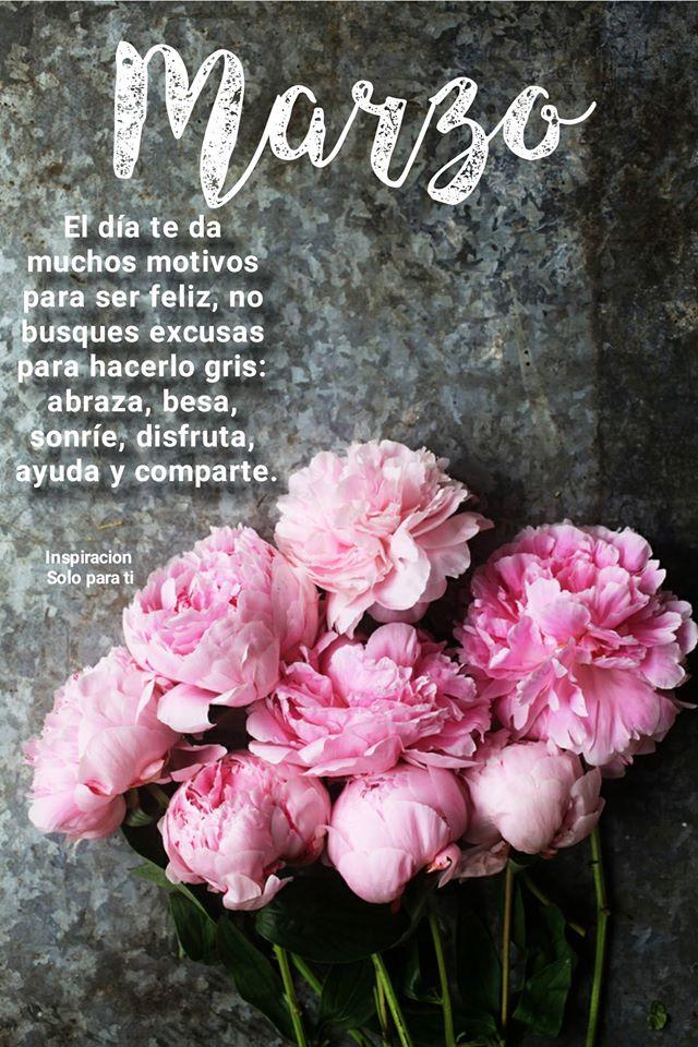 Marzo: El día te da muchos motivos para ser feliz...