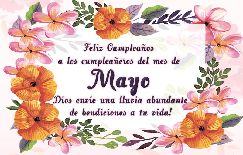 Feliz Cumpleaños a los cumpleañeros...