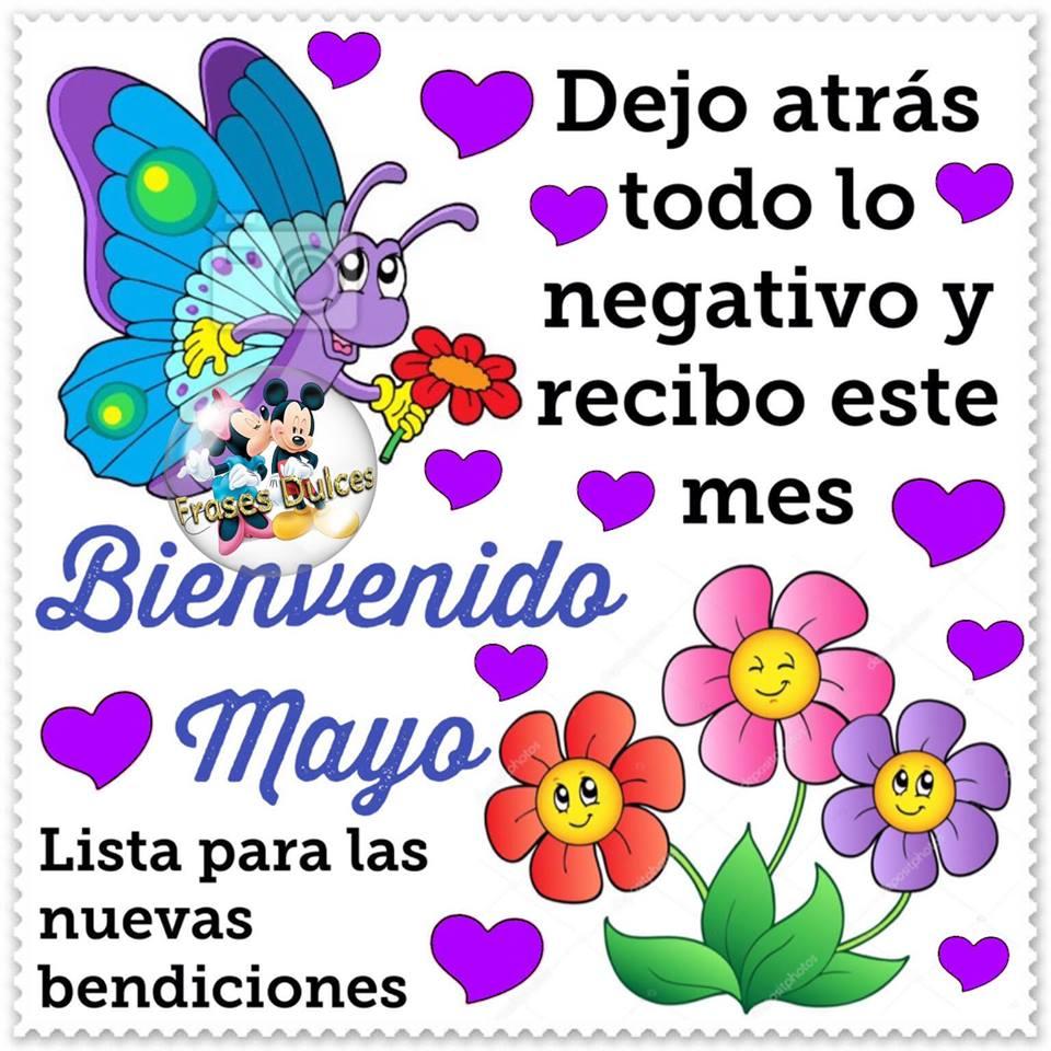 Bienvenido Mayo. Lista para las nuevas bendiciones